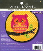 Dimensions Felt Applique Little Owl embroidery kit