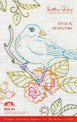 Heather Bailey birds and branches hand embroidery patterns, iron-on transfers