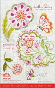 Heather Bailey hand Embroidery patterns Garden Paisleys hot iron on transfers