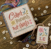 Lizzie Kate Collect Moments counted cross stitch pattern
