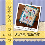 Lizzie Kate - Sweet Summer counted cross stitch kit