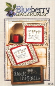 Blueberry Backroads - Deck The Halls Hand Embroidery Patterns