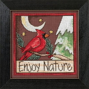Mill Hill Sticks beaded counted cross stitch kit - Enjoy Nature