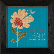 Mill Hill Amylee Weeks beaded counted cross stitch kit - Amazing Grace