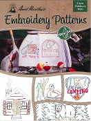 Aunt Martha's Embroidery patterns Great Outdoors - iron on transfers