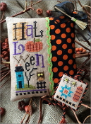 Lizzie Kate - Halloweenie K82 Halloween counted cross stitch kit