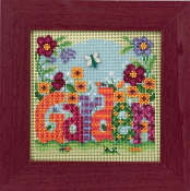 Mill Hill Buttons Beads - Spring Series Garden beaded counted cross stitch kit