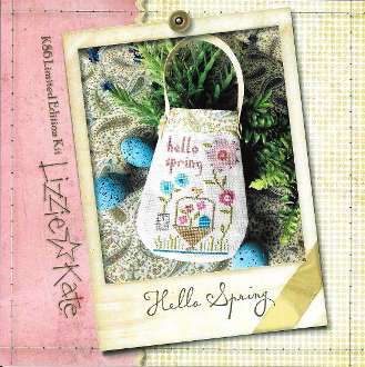 Lizzie Kate Hello Spring counted cross stitch kit
