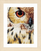 Lanarte Animals Collection, Owl counted cross stitch picture kit