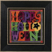 Mill Hill Autumn Series Happy Halloween beaded counted cross stitch kit