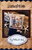 Lizzie Kate Red White Blue counted cross stitch kit