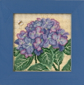 Mill Hill Spring Series Hydrangea beaded counted cross stitch kit