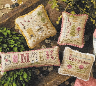 Lizzie Kate Summer Smalls Counted cross stitch pattern chart