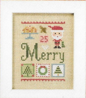 Lizzie Kate Merry Celebrate with charm Series Counted cross stitch pattern chart