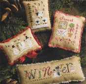 Lizzie Kate Winter Smalls Counted cross stitch pattern chart