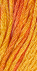 The Gentle Art Sampler Threads Orange Marmalade 5 yard skein embroidery, counted cross stitch