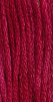 The Gentle Art Sampler Threads - Cherry Wine 0330 5 yard skein embroidery floss