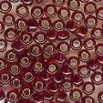 Mill Hill Glass Beads size 8 18099 Ruby