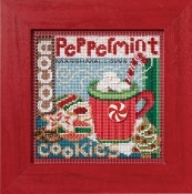 Mill Hill Winter Series Santas Treats Christmas counted cross stitch kit