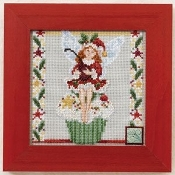Mill Hill Cupcake Fairy Christmas counted cross stitch kit