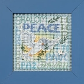 Mill Hill World Peace Christmas counted cross stitch kit