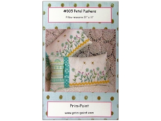 Prim-Point Designs Petal Pushers hand embroidery pattern