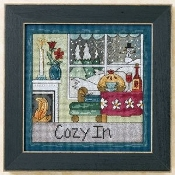 Mill Hill Sticks beaded counted cross stitch kit - Cozy In