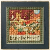 Mill Hill Sticks - Beaded counted cross stitch kit - Enjoy the Harvest