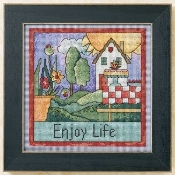Mill Hill Sticks - Enjoy Life ST15-1102 - Beaded counted cross stitch kit