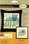 Dimensions Owl embroidery picture kit
