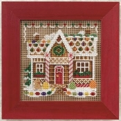Mill Hill Winter Series - Gingerbread House beaded counted cross stitch kit