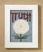 Debbie Mumm - Mill Hill Words for Life - Truth - Beaded Counted Cross Stitch kit