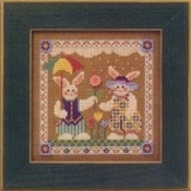 Mill Hill Spring Series - Spring Raindrops counted cross stitch kit
