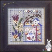 Mill Hill Garden Medley beaded counted cross stitch kit