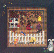 Mill Hill Spring Series - Gathering Place - Beaded counted cross stitch kit