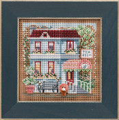 Mill Hill Spring Series Tea Room beaded counted cross stitch kit