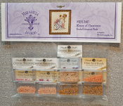 Mirabilia Designs Roses of Provence MD124E embellishment pack, Mill Hill Beads