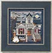 Mill Hill Autumn Series - Haunted Mansion - Halloween beaded counted cross stitch kit