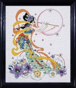 Design Works Crafts Flute Player counted cross stitch kit
