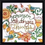 Design Works - Prayer, Beaded Counted Cross Stitch Kit