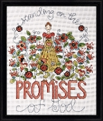 Design Works - Promises, Beaded Counted Cross Stitch Kit