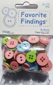 Favorite Findings Clean Flat Back Sewing Buttons