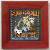 Mill Hill Christmas Counted cross stitch kit - Silent Night