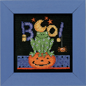Mill Hill Counted Cross Stitch kit - Boo Frog, Debbie Mumm