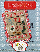 Lizzie Kate Jingles Flip-it Noel Christmas Counted cross stitch pattern