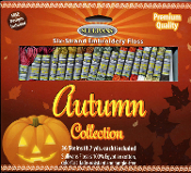 Sullivans embroidery floss Autumn pack - embroidery threads for counted cross stitch, embroidery, needlework