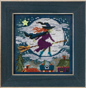Mill Hill Autumn Series, Witch Way, beaded counted cross stitch kit