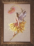 Mirabilia Designs The Petal Fairy counted cross stitch pattern