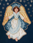 Mill Hill Nativity Trilogy Gloria Christmas Ornament counted cross stitch kit