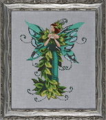 Mirabilia Designs Faerie Summer Love NC202 design by Nora Corbett counted cross stitch pattern